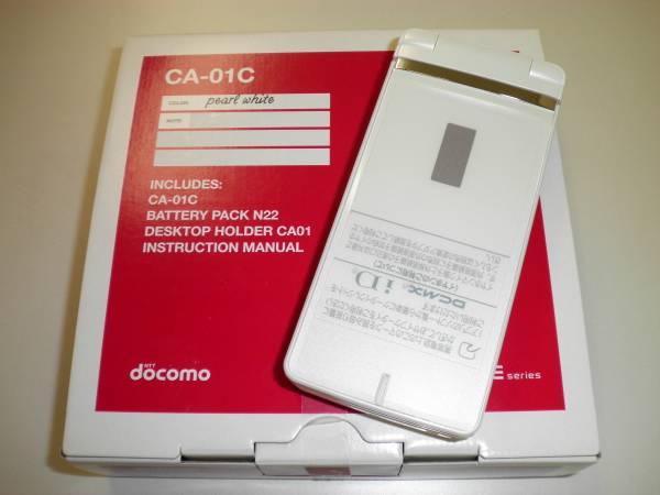 DOCOMO CASIO CA 01C EXILIM 16.3 MP 3D WATERPROOF JAPANESE CELL PHONE